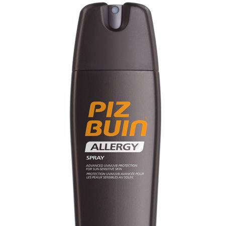 <p>Sun sensitivity is really common but luckily Piz Buin has a fab new Allergy range so you don't have to hide in the heat. This SPF30 spray is as good as ever</p>