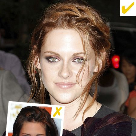 """For too long we'd scream 'get your hair done!' at pictures of K-Stew and <em>finally</em> she's sorted her style with a hot new hue. Heck she's even experimenting with sexy up 'dos! We're a big fan of 'au naturel', but not of 'I can't be bothered' but now she's made an effort it's paid off. We bet Robert Pattinson appreciates it too! Try out a cool up do like hers at Headmasters' Blow Dry Bar, <a href=""""http://www.hmhair.co.uk/collections/collection_blowdry_2010.aspx"""" target=""""_blank"""">www.hmhair.co.uk</a>"""
