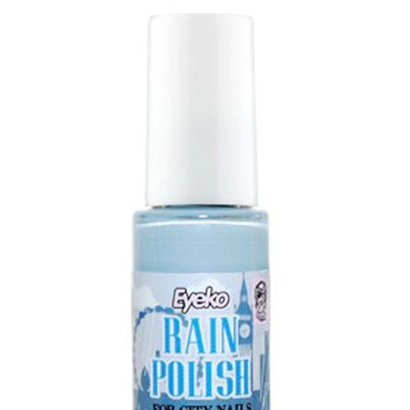 <p>The new way to wear blue. A dirtied-down version of the pastel nail trend from the spring, Eyeko's rain polish is young yet sophisticated.</p>