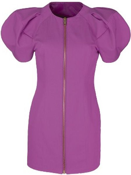 "<p>Boasting statement shoulders, sexy zip detailing and the hue du jour, magenta, this dress will do all the talking for you </p>  <p>£18, Love Label at <a target=""_blank"" href=""http://www.very.co.uk/shoulder-detail-dress/657947776.prd?browseToken=%2fb%2f1589%2c5615%2fs%2fbestsellers%2c0%2fo%2f9%2fr%2f100&prdToken=/p/prod3716097-sku5210339&aff=buyat&affsrc=home&cm_mmc=buyat-_-affiliate-_-na-_-deeplink"">www.very.co.uk</a></p>"