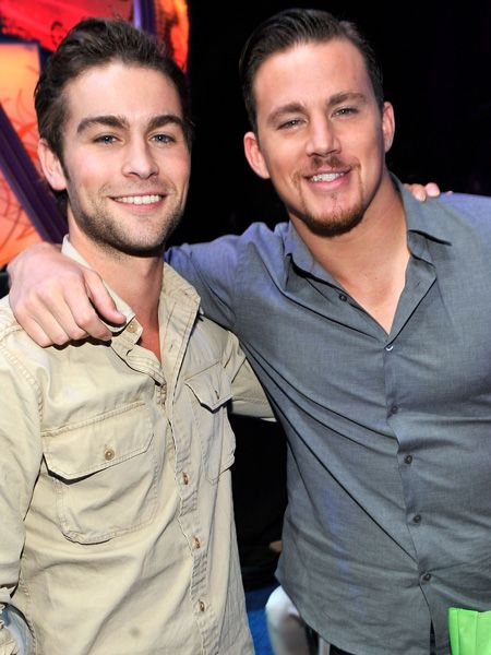 <p>One hottie, two hotties, three hotties, oh and there's more. Cosmo HQ are very happy today as last night's Teen Choice Awards were awash with amazingly good looking guys, here are the best of the bunch for your viewing pleasure...</p>  <p>Left: <strong>Chace Crawford</strong> and <strong>Channing Tatum</strong> look equally edible at the bash although we're sure they'd be more comfy with Cosmo squeezing in between them! </p>