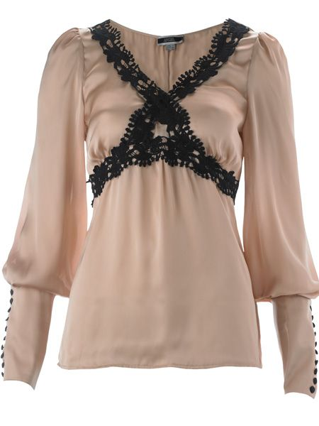 <p>This blush and black blouse is sure to be a sell-out. We'll fight you for it!</p>  <p>£15, Primark Limited Edition</p>