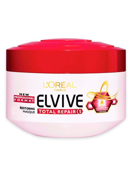 """Cheryl's hair always looks great, but with the styling it goes through, she needs to use an intensive conditioner to keep it looking shiny and healthy. We recommend <a target=""""_blank"""" href=""""http://www.boots.com/en/LOreal-Elvive-Full-Restore-5-mask-pot-300ml_1001004/"""">L'Oréal Paris Elvive Full Restore 5 Masque, £4.99</a>"""