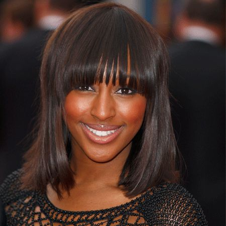 Alexandra Burke has gone retro with a Barbra Streisand bob! However, she's given the look some serious X Factor, adding subtle highlights so it doesn't look flat, as well as hyping up the shine. This look works best with naturally straight (or slightly wavy) hair