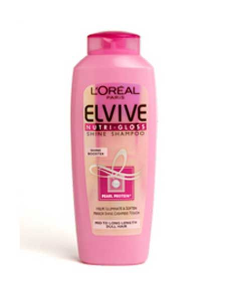 The key to any good style is preparation! Get your hair ready for some serious style with an illuminating shampoo and conditioner, like L'Oréal Paris Elvive Nutri-Gloss Shampoo and Conditioner, £2.39 each.