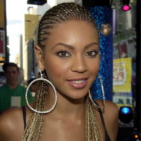 Papped in 2001, Beyonce looks utterly fab with a head full of braids... prepared to make any hairstyle her own, it seems Miss Knowles had already predicted her superstar destiny
