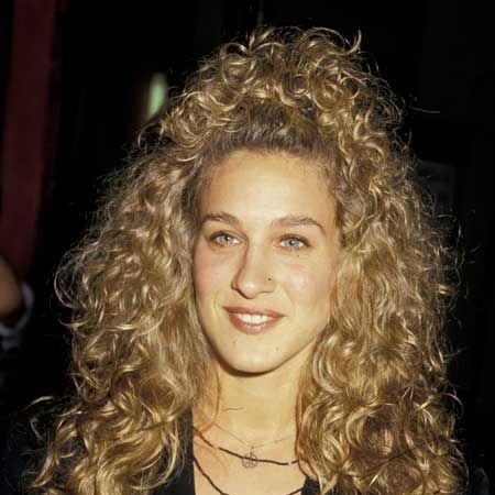 SJP had all the attributes of any budding star&#x3B; a fresh face, a dazzling smile and wild, uncontrollable hair! Those curls seem to have a life of their own...