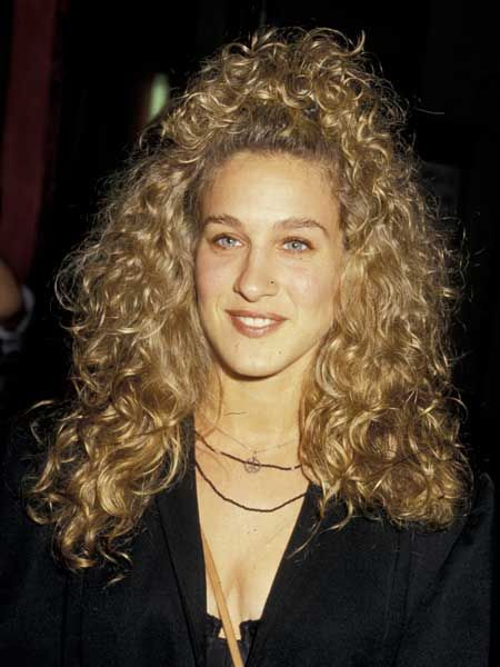 SJP had all the attributes of any budding star; a fresh face, a dazzling smile and wild, uncontrollable hair! Those curls seem to have a life of their own...