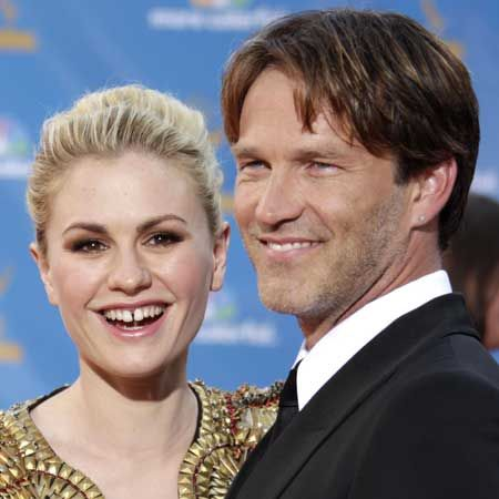 <p>Off screen the newlyweds look as happy together as they are on screen. We reckon it's true love for the <em>True Blood</em> stars</p>