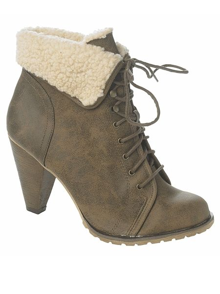 "<p>The easiest way to autumn up your look is with some so-now shearling. These cool boots will go with everything</p>  <p>£29.99, <a href=""http://www.newlook.com/shop/womens/boots/lace-up-cuff-boot_201184821"">newlook.com</a></p>"