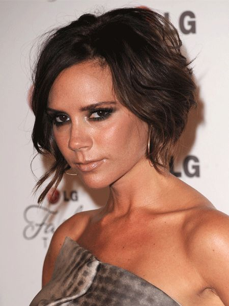 <p>Victoria Beckham has been a huge hairstyle icon whether she's worn her locks blonde, pixie cropped, with swishing hair extensions or in an edgy asymmetric style. But one thing's for sure - whatever her hairstyle it's always but always underpinned by Posh's signature, sexy style.</p>  <p>Left: Victoria as we know her now, with bobbed hair set in  beautifully soft and sexy waves </p>