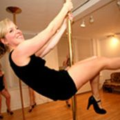 """<p>""""I try my pole dancing moves on my boyfriend - by using him as a pole! I show off my stamina by gripping my thighs around his waist, and hanging upside-down. He loves it.""""</p><p><strong>Nicola, 31 Peterborough</strong></p>"""