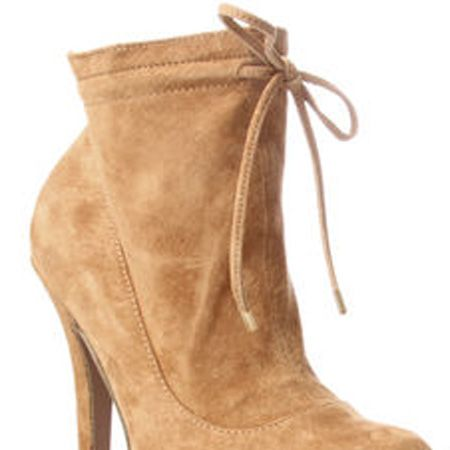 """<p>Camel is the hottest hue this season and these suede ankle boots are a seriously hot way to wear it</p>  <p>£90, <a target=""""_blank"""" href=""""http://www.kurtgeiger.com/online-shop/172896-miss-kg-ebony"""">kurtgeiger.com</a> </p>"""