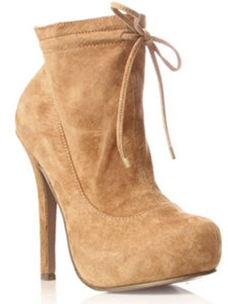 "<p>Camel is the hottest hue this season and these suede ankle boots are a seriously hot way to wear it</p>     <p>£90, <a target=""_blank"" href=""http://www.kurtgeiger.com/online-shop/172896-miss-kg-ebony"">kurtgeiger.com</a> </p>"