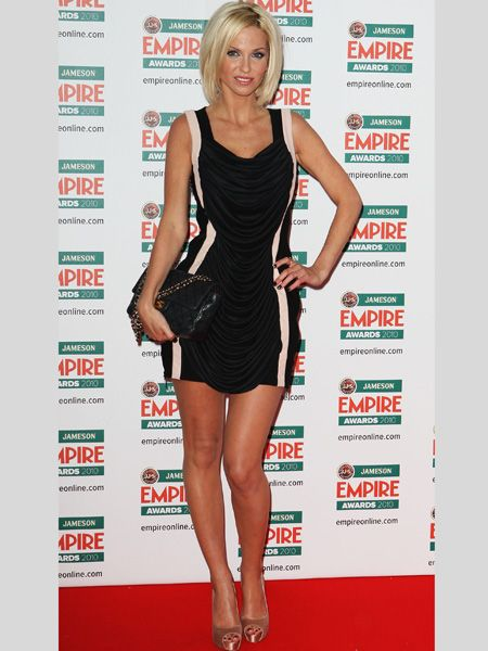 <p>At the 2010 Empire Awards the singer-turned-actress showed off grown-up glamour in a little black dress with nude panels and metallic satin shoes. Proof that her dazzling dress sense is not confined to the stage</p>