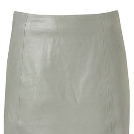 """<p>Quickest way to update your wardrobe this season? A leather skirt. We're in love with this pale grey number from Topshop.</p><p>Leather A-line skirt, £58, <a target=""""_blank"""" href=""""http://www.topshop.com/webapp/wcs/stores/servlet/ProductDisplay?beginIndex=0&viewAllFlag=&catalogId=33057&storeId=12556&categoryId=216497&parent_category_rn=208491&productId=1962889&langId=-1"""">topshop.com  </a><br /></p>"""