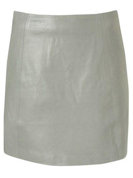 "<p>Quickest way to update your wardrobe this season? A leather skirt. We're in love with this pale grey number from Topshop.</p>  <p>Leather A-line skirt, £58, <a target=""_blank"" href=""http://www.topshop.com/webapp/wcs/stores/servlet/ProductDisplay?beginIndex=0&viewAllFlag=&catalogId=33057&storeId=12556&categoryId=216497&parent_category_rn=208491&productId=1962889&langId=-1"">topshop.com  </a><br /></p>"