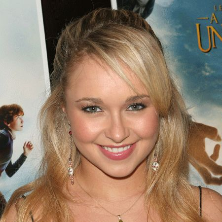 46% of us thought Hayden Panettiere looked beautiful with her long and lustrous butter blonde locks...