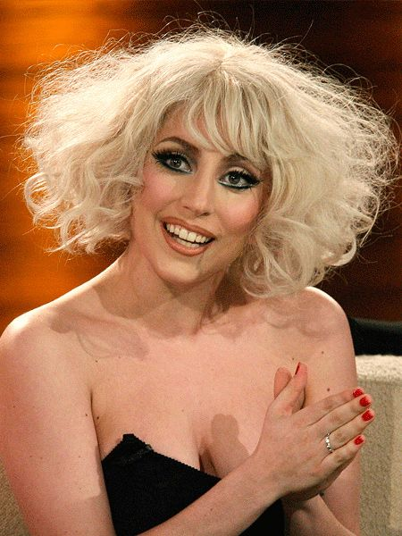 45% of the Cosmo team loved it when Lady Gaga sported this soft bob, made up of gently tousled and teased curls...