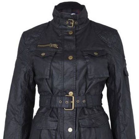 """<p>The outdoorsy look is having a fashion moment. This designer-look waxed jacket will grant you lots of kudos</p><p>£54.99,<a target=""""_blank"""" href=""""http://www.riverisland.com/Online/women/coats--jackets/coats/black-waxed-motorcross-jacket-590800 """"> riverisland.com</a></p>"""