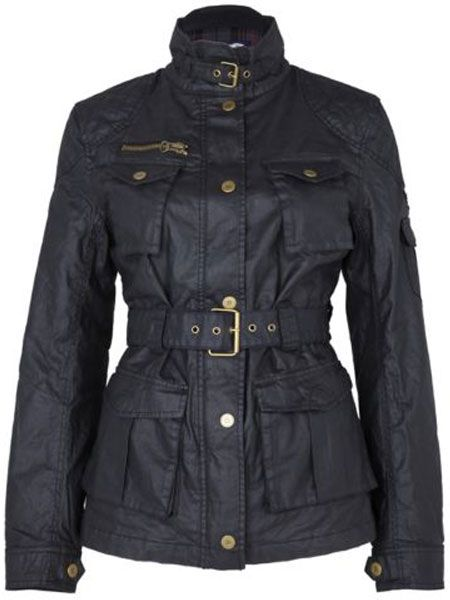"<p>The outdoorsy look is having a fashion moment. This designer-look waxed jacket will grant you lots of kudos</p>  <p>£54.99,<a target=""_blank"" href=""http://www.riverisland.com/Online/women/coats--jackets/coats/black-waxed-motorcross-jacket-590800 ""> riverisland.com</a></p>"