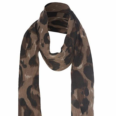 """<p>Leopard is the print du jour and this spot on scarf comes at a purr-fect price </p><p>£6.99, <a target=""""_blank"""" href=""""http://www.newlook.com/shop/womens/scarves/blurred-spot-scarf_199147021?icSort=-bestSellerScore"""">newlook.com </a><a href=""""http://www.newlook.com/shop/womens/scarves/blurred-spot-scarf_199147021?icSort=-bestSellerScore""""></a> </p>"""