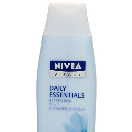 """<p>Keep skincare simple by using a combined cleanser and toner. This new 2 in 1 from the  Nivea Visage Daily Essentials range is great for normal and combination skin and will clean, calm and soften skin</p><p>Nivea Visage Daily Essentials Refreshing 2 in 1 Cleanser & Toner, £3.29, <a target=""""_blank"""" href=""""http://www.nivea.co.uk"""">nivea.co.uk</a></p>"""