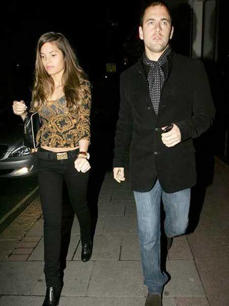 Joe Cole and Carly Zucker enjoyed a romantic meal at Nobu Berkley, London...