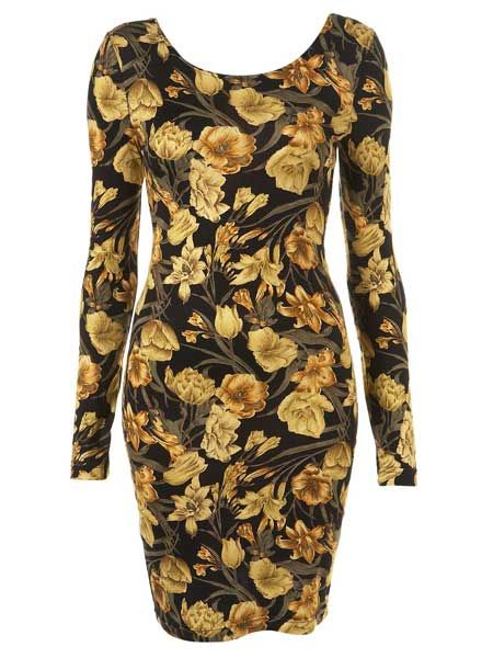 """<p>Cosmo's pick of the best dresses to take you through the party season in style</p>  <p>Autumnal florals have never been so fitting. We love this work of art</p>  <p>£26, <a target=""""_blank"""" href=""""http://www.topshop.com/webapp/wcs/stores/servlet/ProductDisplay?beginIndex=0&viewAllFlag=&catalogId=33057&storeId=12556&productId=1999960&langId=-1&sort_field=Relevance&categoryId=208523&parent_categoryId=203984&sort_field=Relevance&pageSize=20&beginIndex"""">topshop.com</a> </p>"""