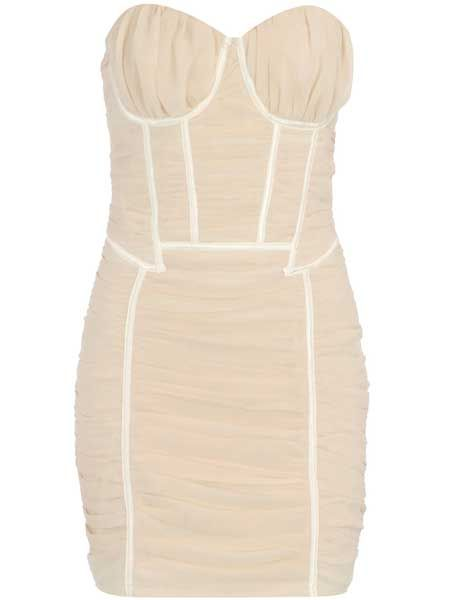 """<p>A racy corset dress scores high on the hot scale. This one's the cream of the crop!</p>  <p>£28, <a target=""""_blank"""" href=""""http://www.dorothyperkins.com/webapp/wcs/stores/servlet/ProductDisplay?beginIndex=0&viewAllFlag=&catalogId=33053&storeId=12552&productId=1928705&langId=-1&sort_field=Relevance&categoryId=208782&parent_categoryId=226988&sort_field=Relevance&pageSize=20&beg"""">dorothyperkins.com</a> </p>"""