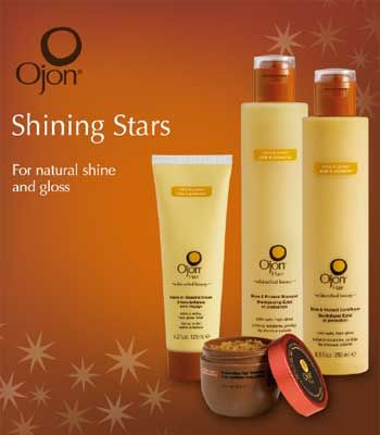 <p>Hair care heroines Ojon have put together a special set of products to give your locks the lustre and love they deserve. The Shining Stars kit, £35 (worth £72) is designed to restore dull hair and protect your colour with Shine & Protect, shampoo, conditioner, leave in Glossing Cream and Restorative Hair treatment. It's the ideal indulgence for dry and curly hair and for adding shine, plus you'll pocket a nice saving!</p>  <p>Available at Harrods, Liberty and Fenwicks</p>