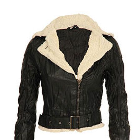 <p>A weathered and distressed effect is the order of the day with this jacket, with added belts and buckles thrown in for free</p>