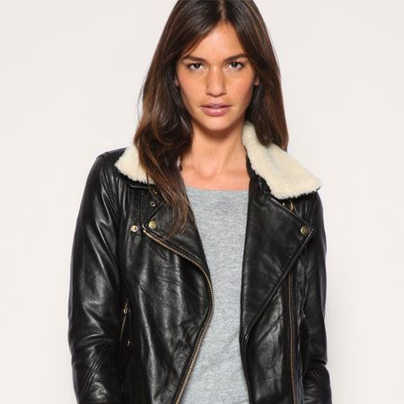 "Can you believe that this jacket is 100% real leather? At that price we couldn't either. Snap it up while you can!<br /><br />£120, <a target=""_blank"" href=""http://www.asos.com/Asos/Asos-Leather-Aviator-Jacket-With-Detachable-Faux-Fur-Collar/Prod/pgeproduct.aspx?iid=1146812&SearchQuery=aviator%20jacket&sh=0&pge=0&pgesize=20&sort=-1&clr=Black"">asos.com</a>"