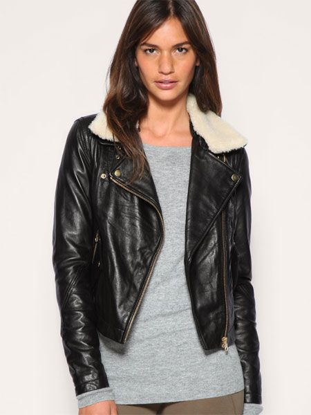 """Can you believe that this jacket is 100% real leather? At that price we couldn't either. Snap it up while you can!<br /><br />£120, <a target=""""_blank"""" href=""""http://www.asos.com/Asos/Asos-Leather-Aviator-Jacket-With-Detachable-Faux-Fur-Collar/Prod/pgeproduct.aspx?iid=1146812&SearchQuery=aviator%20jacket&sh=0&pge=0&pgesize=20&sort=-1&clr=Black"""">asos.com</a>"""