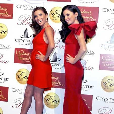 <p>Get your celebrity gossip fix with Cosmo's pick of the showbiz sightings  this week</p><p>Eva Longoria has been immortalised in wax and posed next to it at Madame Tussauds in Las Vegas. We can barely tell them apart</p>