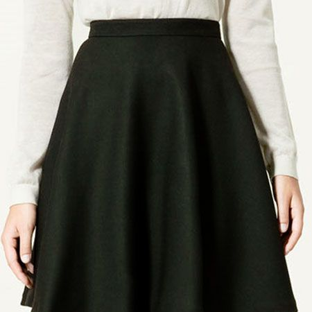 """<p>The skater trend is one of our favourites, it's flattering on all figures and can be dressed up or dressed down</p><p> </p><p>This gorgeous black skater is perfect for work with brogues or with high heels on a night out<br /><br /></p><p>£39.99, <a target=""""_blank"""" href=""""http://www.zara.com/webapp/wcs/stores/%20%20servlet/product/uk/en/zara-sales/11018%20%20/82507/LAYERED%2BSKIRT"""">zara.com </a><br /></p>"""