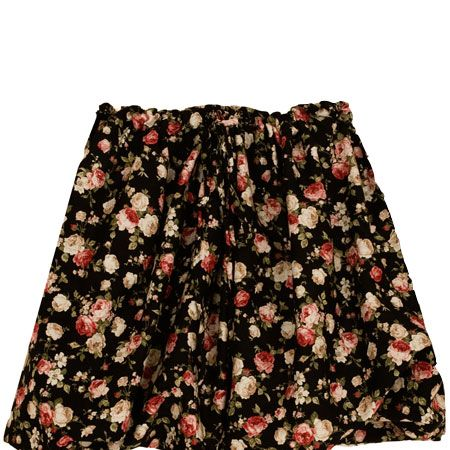 """<p>The vintage floral print on this skirt makes us feel like we're bringing summer with us into autumn <br /><br /></p><p>£89, <a target=""""_blank"""" href=""""http://www.cabbagesandroses.com/"""">cabbagesandroses.com</a> <br /></p>"""