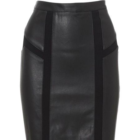 """<p>Could this be the hottest skirt of the season? We think so! Get it before it goes at Oasis</p>  <p> </p>  <p>£40, <a target=""""_blank"""" href=""""http://www.oasis-stores.com/Pu-Mix-Skirt/New-Arrivals/oasis/fcp-product/3840013301?cm_re=1-_-featurebox_4-_-newin"""">oasis-stores.com</a> </p>"""