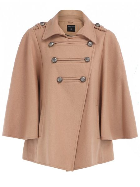 "<p>Atten-tion girls - here's a cape with a camel colour <em>and</em> military salute. Tri-trend-tastic!</p>  <p><strong> </strong></p>  <p>£65, <a target=""_blank"" href=""http://www.dorothyperkins.com/webapp/wcs/stores/servlet/ProductDisplay?beginIndex=0&viewAllFlag=&catalogId=33053&storeId=12552&productId=2050903&langId=-1&sort_field=Relevance&categoryId=208614&parent_categoryId=208596&sort_field=Relevance&pageSize=20"">dorothyperkins.com</a></p>"