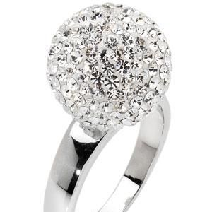 """<p>Who needs a disco ball when you've got one on your finger? This gorgeous Swarovski crystal ring is sure to get you noticed at your next big party<br /></p><p> </p><p>£68.20, <a target=""""_blank"""" href=""""http://amoreebaci.com/site.html"""">amoreebaci.com </a><br /></p>"""