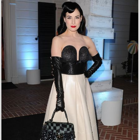 <p>With the explosion of Christina Hendricks on the celeb scene and the ever to-die-for dress style of Dita Von Teese, retro ladylike luxe is having a moment. Here are the hottest 50s fashionistas </p>