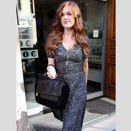 <p>The A-list are embracing the great outdoors this season in all things heritage inspired, from tweeds to tartan and snugly shearling</p>