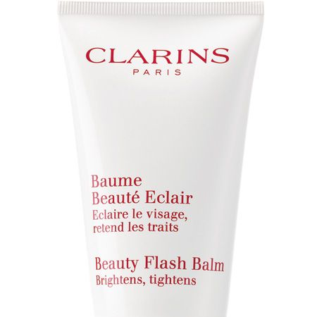 """<p>Before applying your face, douse it in Clarins' iconic Beauty Flash Balm. It brightens, tightens and acts as the perfect primer to ensure your makeup stays fresher for longer. We love the new Swarovski crystal adorned tube which means it will liven up your boudoir as well as your face!</p><p>Clarins Beauty Flash Balm, £26.50, <a target=""""_blank"""" href=""""http://uk.clarins.com/webapp/wcs/stores/servlet/beauty-products_day-creams_limited-edition-beauty-flash-balm_C010405099_10201_11751_-11_95501__"""">clarins.com</a></p>"""