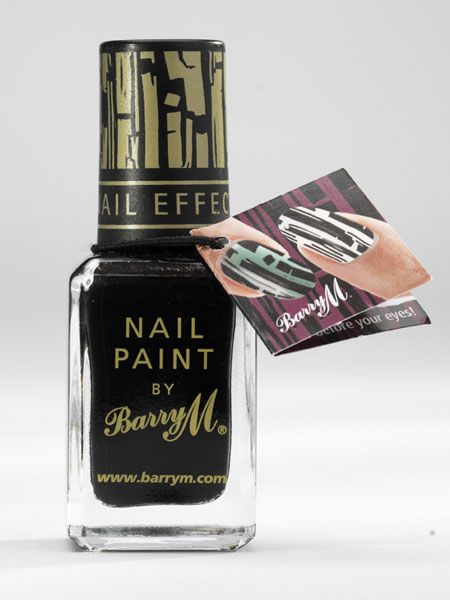"<p>Those clever beauty boffs at Barry M have created a one-of-a-kind nail paint which gives you a nail art effect with one coat of polish. All you do is paint your nails with your fave colour then apply a layer of the Instant Nail Effects on top which crackles as it dries to create a super-cool pattern. It's magic! </p>  <p>£3.95, watch a tutorial and buy at <a target=""_blank"" href=""http://www.barrym.com/products/product.asp?id=155 "">barrym.com</a></p>"
