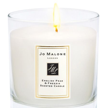 """We'll never meet a mum who would be disappointed with a Jo Malone gift. It's hard to choose between the indulgent body cremes, shower gels and bath oils but the luxe home candles with the scents of their famous fragrances are always a winner <p>£38, <a href=""""http://www.jomalone.co.uk/product/3789/12847/For-The-Home/Home-Candles/Fruity/English-Pear-Freesia/Home-Candle/index.tmpl"""" target=""""_blank"""">jomalone.co.uk</a></p>"""