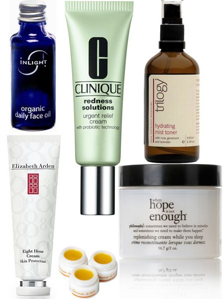 <p>As the seasons change, so can our skin. The wind, cold temperature outside and central-heating indoors can cause our skin to become dehydrated and sensitised. Click through this gallery for the best beauty buys so you can laugh in the face of the elements</p>