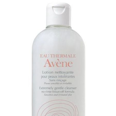 """<p>Ensure you use a gentle cleanser that suits sensitive skin, even if yours isn't normally. Avene has a skin-loving one that whilst extremely delicate, removes all face and eye makeup</p><p><strong>Avene Extremely Gentle Cleanser</strong>, £7.83, <a target=""""_blank"""" href=""""http://www.boots.com/en/Eau-Thermale-Avene-Extremely-Gentle-Cleanser-200ml_1576/"""">boots.com</a></p>"""
