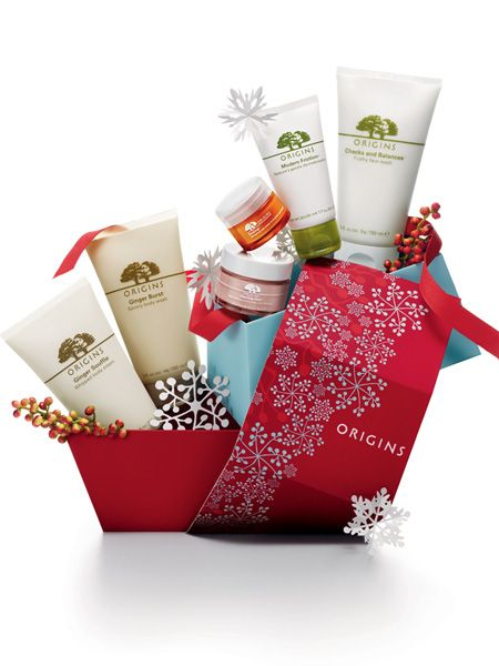 "<p>All beauty junkies love Origins and they do fabulous Christmas sets which mean huge savings. This ultimate kit packed with their most amazing products saves you £33.35 - bonus!</p>  <p>Origin Greats, £49, <a href=""http://www.origins.co.uk/templates/products/sp_nonshaded.tmpl?CATEGORY_ID=CAT29323&PRODUCT_ID=PROD99378 "" target=""_blank"">origins.co.uk</a></p>"