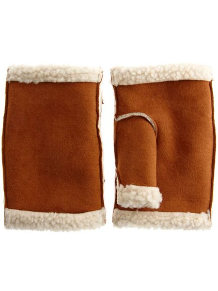 "With the snow settling these sheepskin palm warmers are perfect to avoid frostbite, whilst staying on trend with their furry feeling <p> </p><p>£12, <a href=""http://www.asos.com/Asos/Asos-Tailored-Peter-Pan-Collar-Dress/Prod/pgeproduct.aspx?iid=1360530&cid=8799&Rf-400=53&sh=0&pge=0&pgesize=20&sort=1&clr=FoxBlack"" target=""_blank"">asos.com</a></p>"