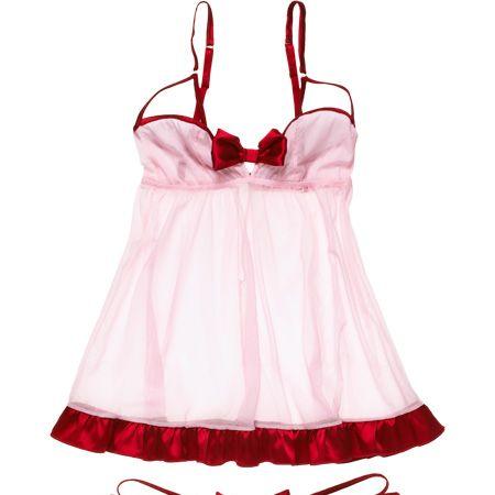 <!--[if gte mso 9]><xml>     Normal   0   0   1   16   93   1   1   114   11.773          </xml><![endif]--><!--[if gte mso 9]><xml>     0         0   0      </xml><![endif]-->       <p>Santa baby, please bring us these sexy smalls! We've been good <em>all</em> year...</p>  <p> </p>  <p>Camisole, £129&#x3B; knickers, £49, Myla</p>